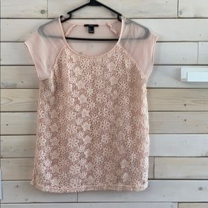 Forever 21 - Cream Top - Size S